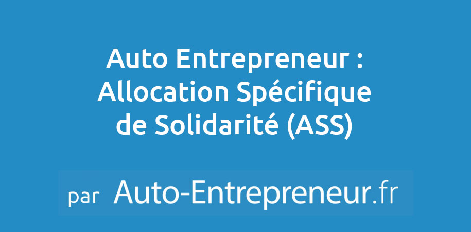 Ass Allocation Specifique De Solidarite